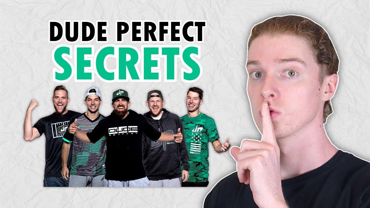 How Dude Perfect Make Trick Shots