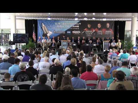 2012 U.S. Astronaut Hall of Fame Induction