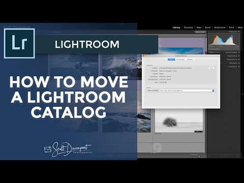 How To Move A Lightroom Catalog