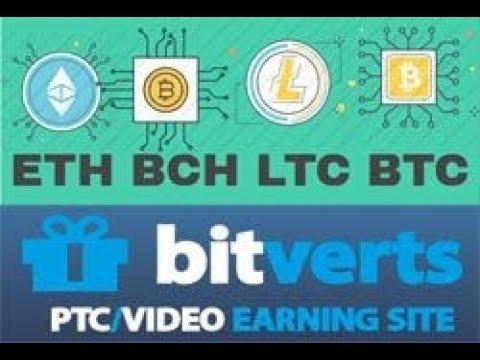 Ganhe bitcoin gratis com o MELHOR site de ptc, o BITVERTS