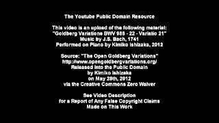 Open Goldberg Variations - BWV 988 - 22 - Variatio 21