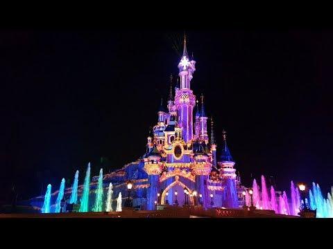 Disneyland Paris : Disney Illuminations & If You Can Dream Zone Infinity