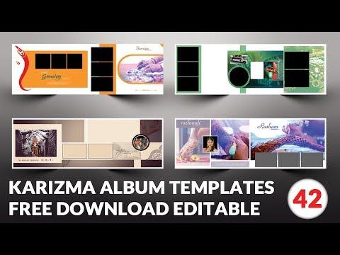Indian 2019 Karizma Album Design 12x36 Psd Templates Free