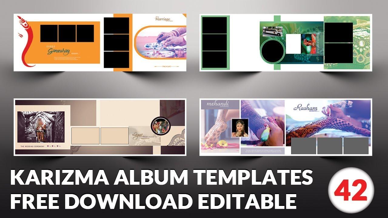 Indian 2019 Karizma Album Design 12x36 Psd Templates Free Download Srinu Photo Editing