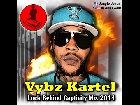 ♫Vybz Kartel-Lock Behind Captivity Dancehall Mix Vol. 1  2014-2015@djjunglejesus