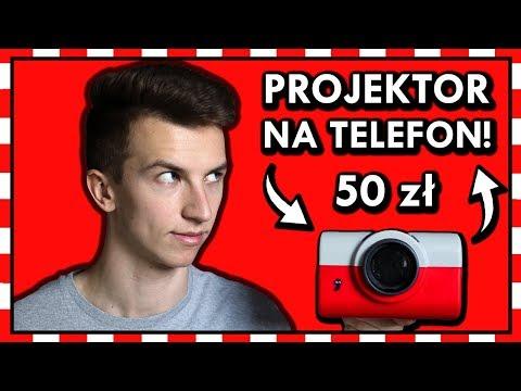 PROJEKTOR NA TELEFON za 50 zł! ◉_◉