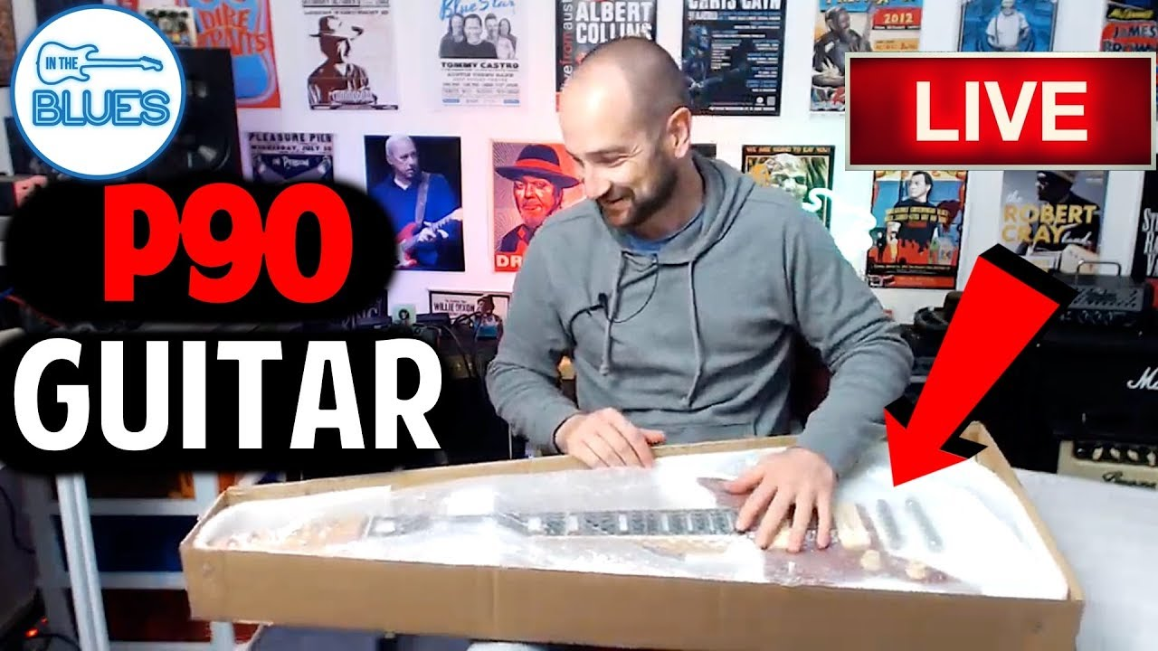 unboxing a p90 electric guitar from artist guitars and the mystery item youtube. Black Bedroom Furniture Sets. Home Design Ideas