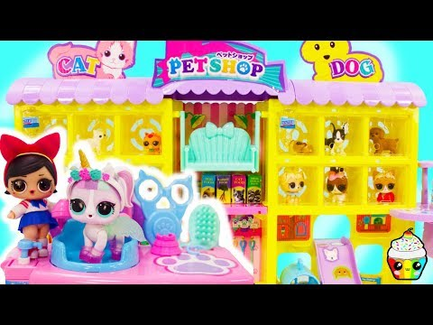 LOL Surprise Pet Shop Fanime Opens Her Own Pet Shop LOL Surprise Pets