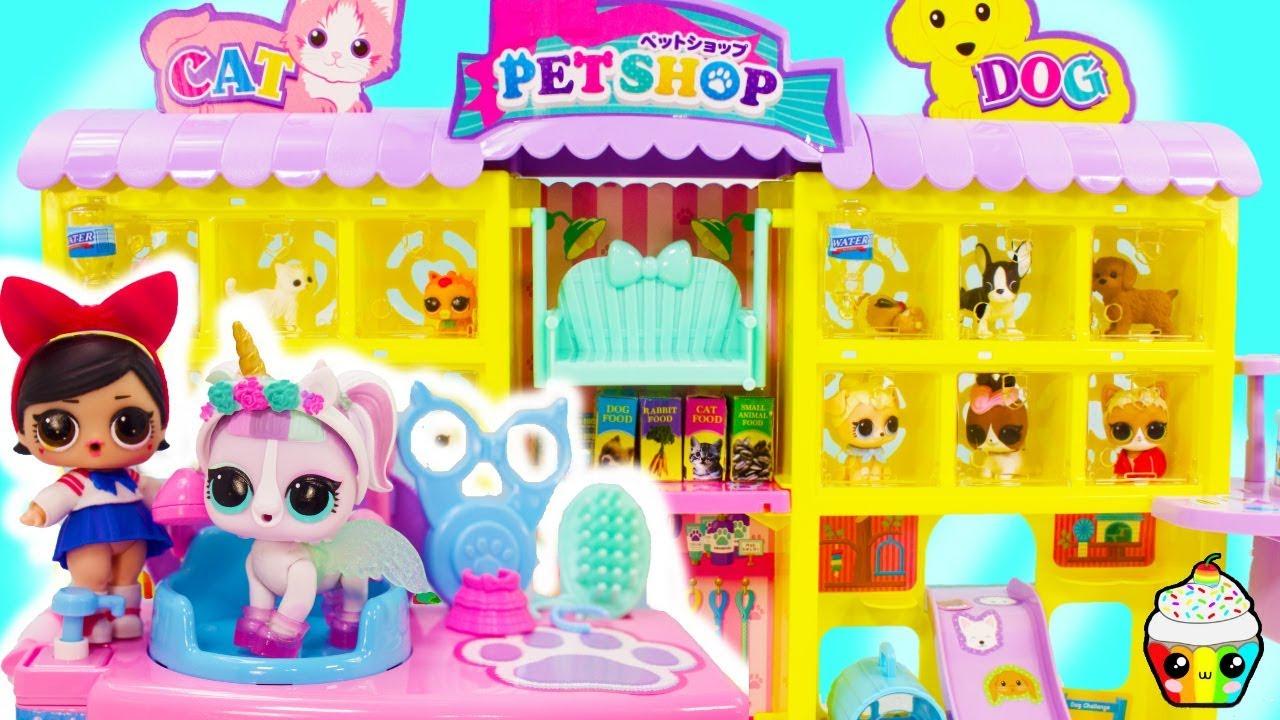LOL Surprise Pet Shop Fanime Opens Her Own Pet Shop LOL Surprise Pets
