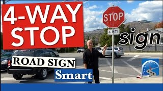 4-Way (All-Way) STOP Sign | Pass a Road Test Smart