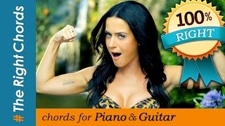 #TheRightChords | Katy Perry - Roar CHORDS