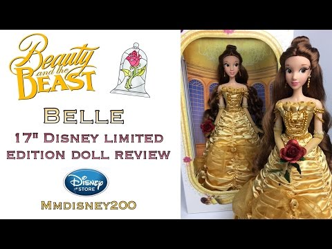 "Disney Store: Belle 17"" Limited Edition doll Review"