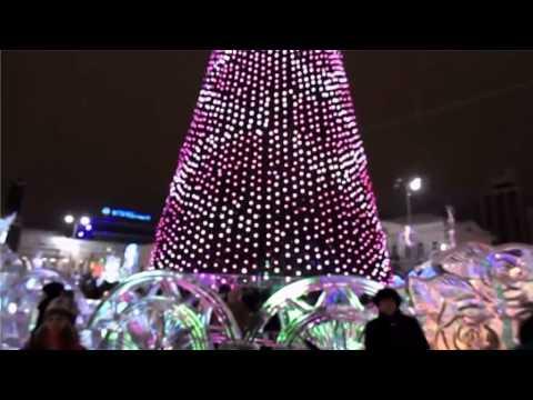 Ледовый городок Екатеринбург