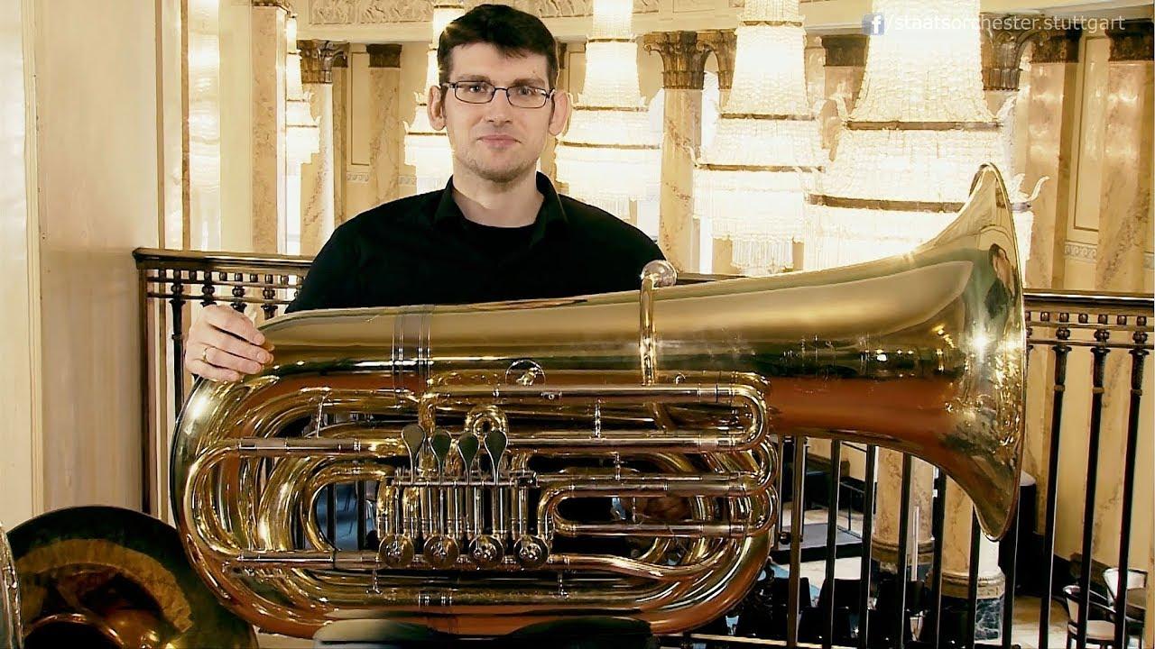 Die Tuba - ein Blechblasinstrument