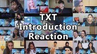 "TXT (투모로우바이투게더) 'Introduction Film - What do you do?' - 연준 (YEONJUN) ""Reaction Mashup"""