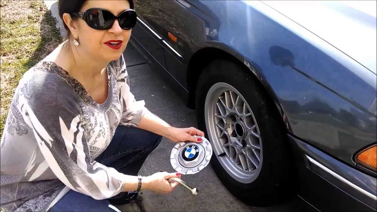 Replace Bmw 528i Center Cap Youtube