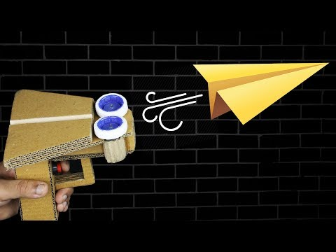 How to make Paper Airplane Launcher ✈