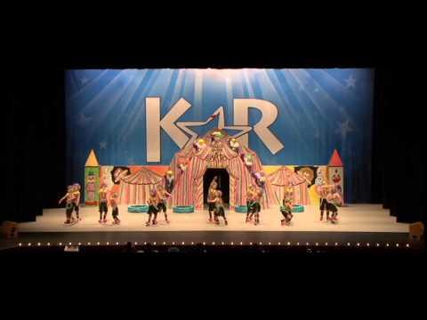 "2014 National Champs ""Circus"" Gotta Dance"