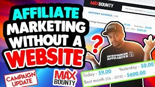 Max Bounty CPA Marketing | Affiliate Marketing Campaign REVIEW - FULL REVEAL