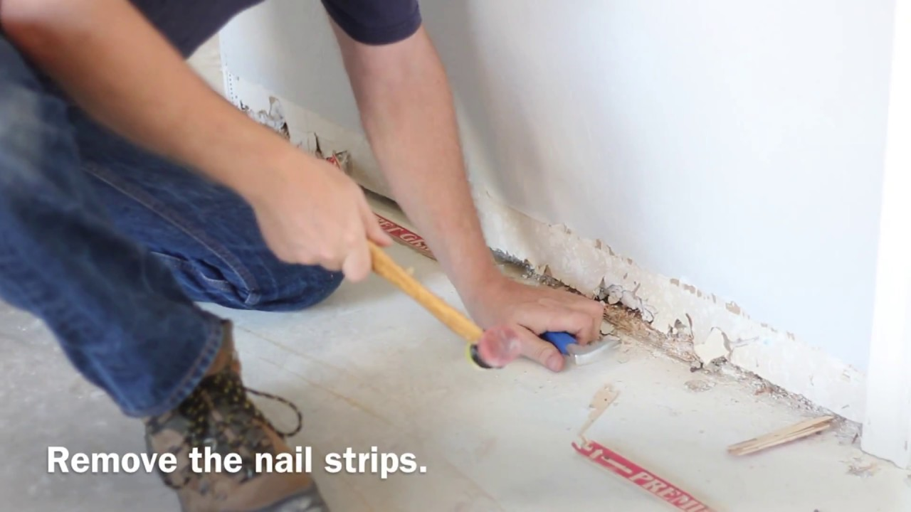 DIY Home Renovation, Wood Floor Installation   YouTube
