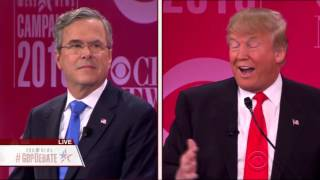 Trump and Bush Spar Over How to Handle Putin and Fight ISIS