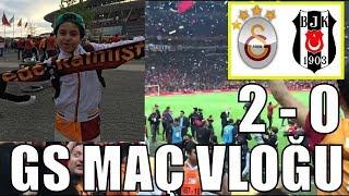 GALATASARAY ŞAMPİYONLUK MAÇI | Sado'nun Galatasaray Maç Vlogu