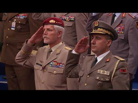 Opening Ceremony, NATO Military Committee Conference, Tirana, Albania - 15 SEP 2017