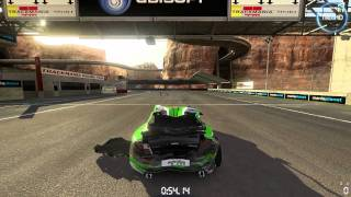 Trackmania 2 - Canyon Gameplay