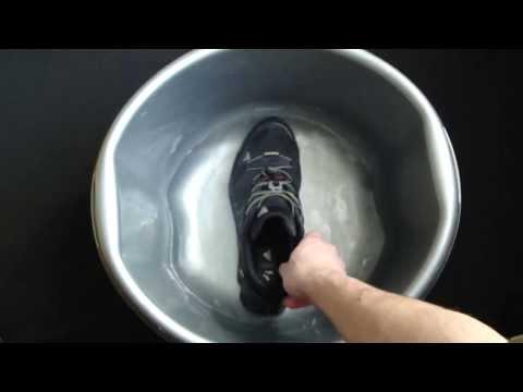 Тест на непромокаемость. Кроссовки  Adidas Terrex Swift R GTX