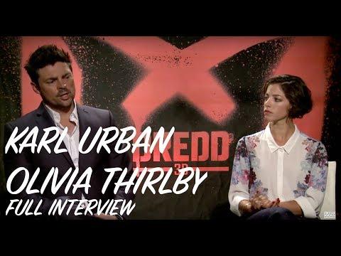 Karl Urban & Olivia Thirlby Interview