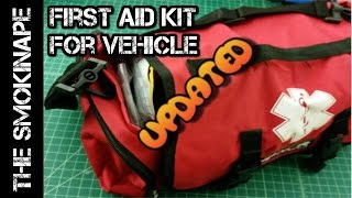 Emergency Medical First Aid Kit (FAK - EMS) - For Vehicle UPDATED - TheSmokinApe