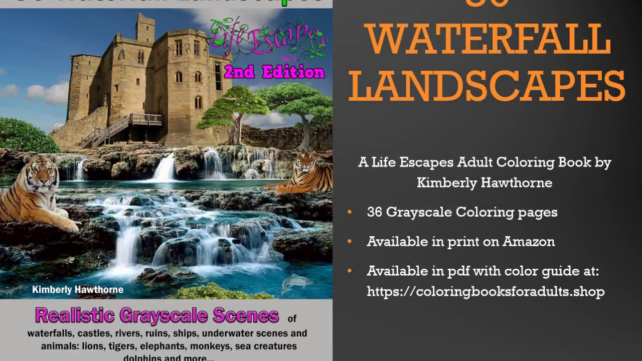Legendary Landscapes: Coloring Book Journey | Coloring pages ... | 720x1280