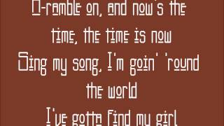 Ramble On - Led Zeppelin (lyrics)