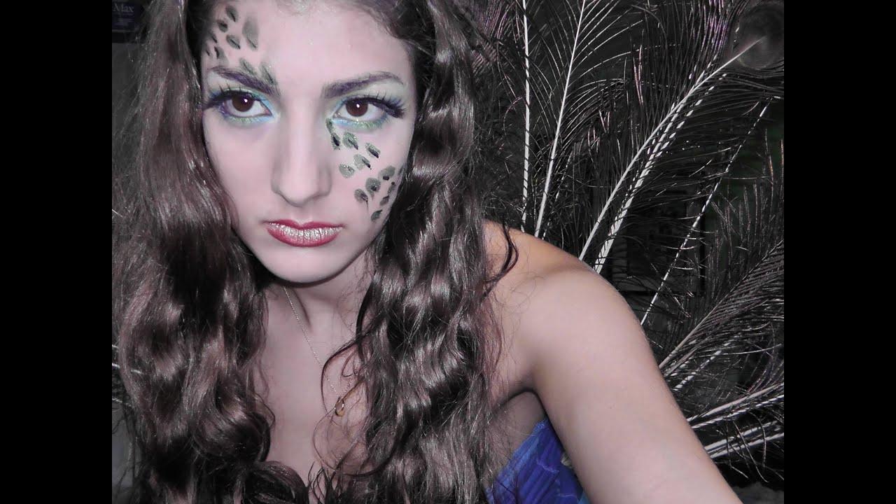 diy peacock halloween costume youtube