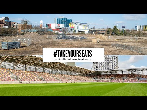 #TakeYourSeats: Two Years in Two Minutes! New Stadium Time-Lapse