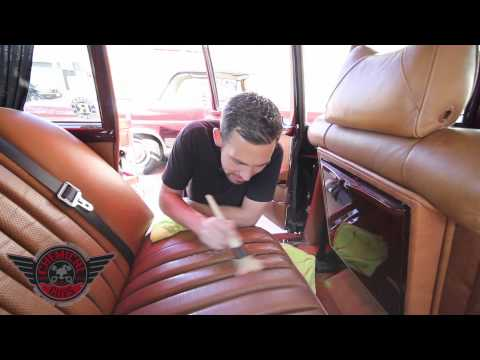 How To: Leather Cleaning & Conditioning Seats - Chemical Guys Mercedes-Benz 600 Grosser