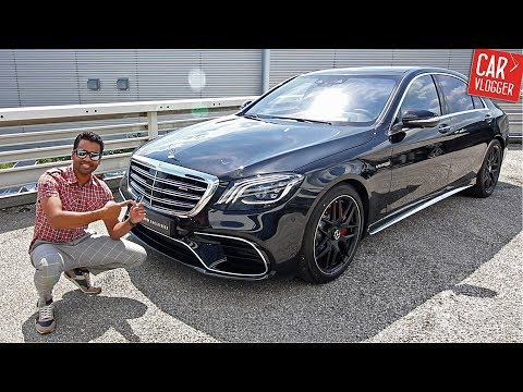 INSIDE the NEW Mercedes AMG S63 2017 Interior Exterior DETAILS w REVS