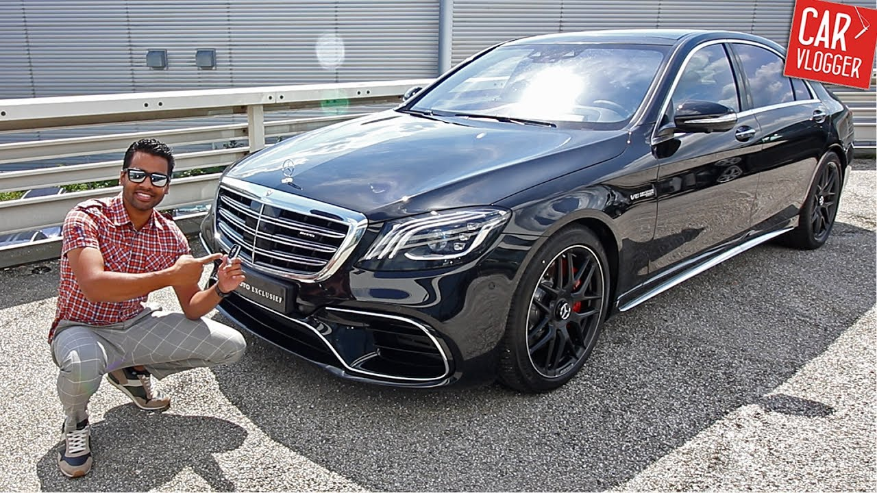 Inside The New Mercedes Amg S63 2017