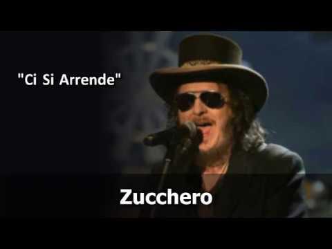 Zucchero - Ci Si Arrende (Video karaoke)