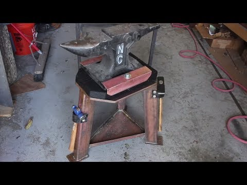 The Ultimate Anvil Stand | DIY