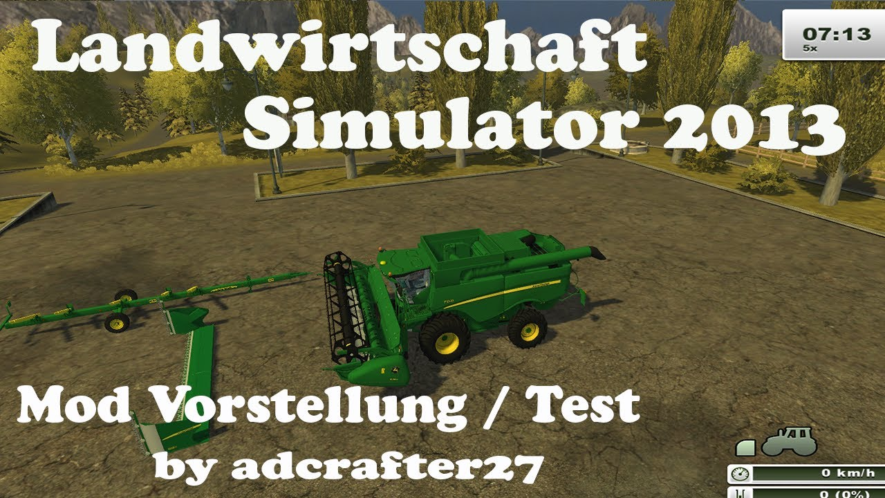 Ls 2013 mod vorstellung test german john deere s650 v 1 0