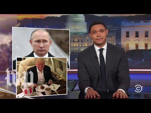 Latenight laughs: Trump and Putin meet