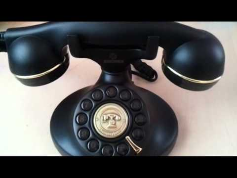 retro vintage telefon youtube. Black Bedroom Furniture Sets. Home Design Ideas