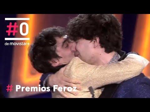 El emotivo discurso de los Javis |  Premios Feroz 2018 | Movistar+