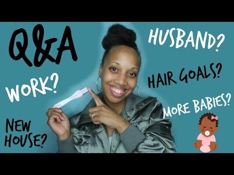 Q&A!! MORE BABIES, HAIR GOALS, HOUSE TOUR??