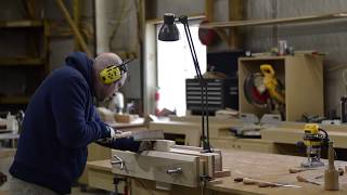 How To Hand Cut Dovetails: With a power tool cheat