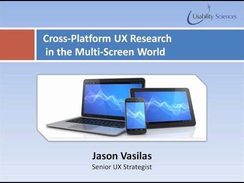 Cross-Platform UX Research in the Multi-Screen World