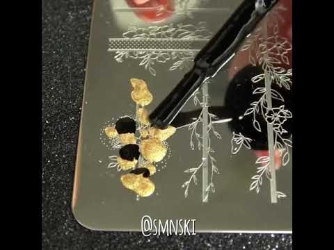 Flower Stamping Nails Tutorial--BORN PRETTY thumbnail