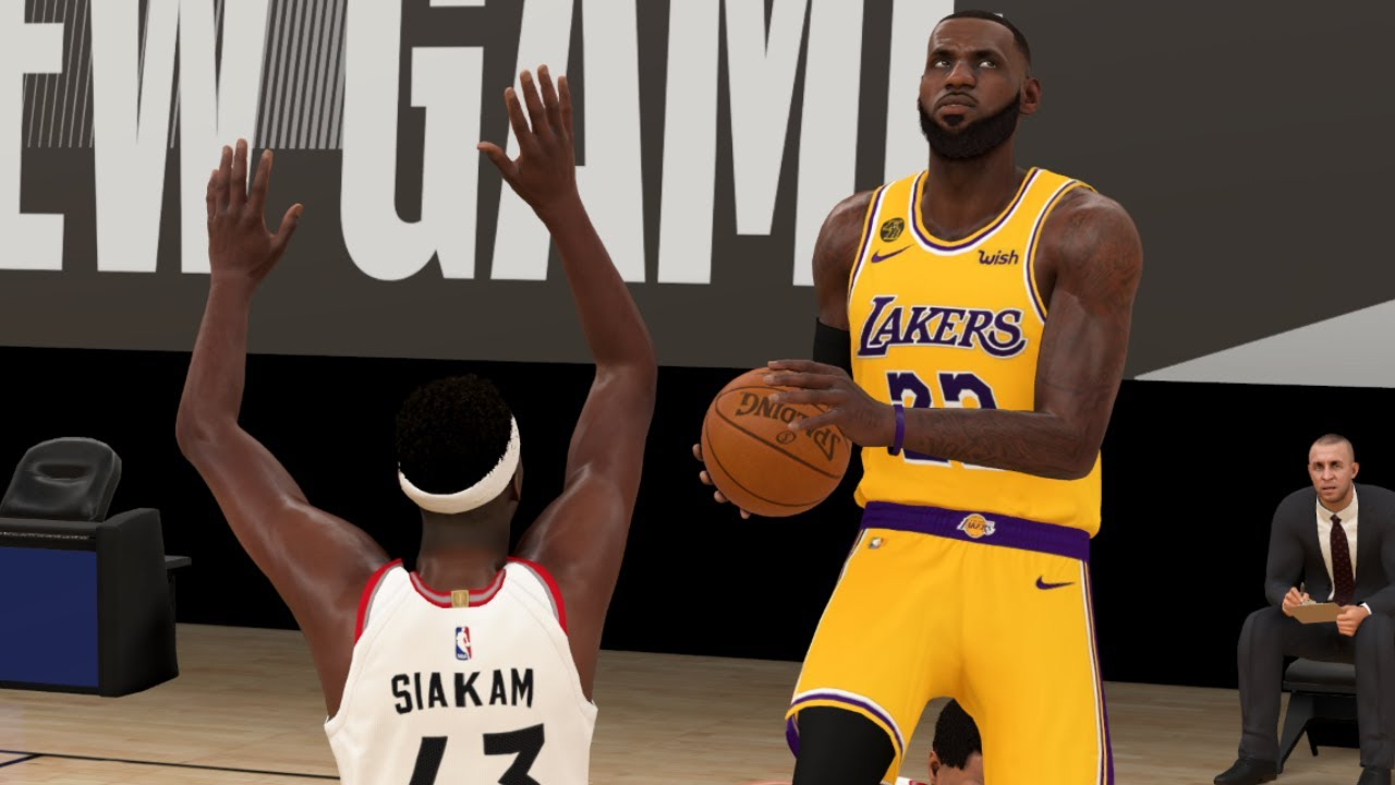 NBA Live 8/1 - Lakers vs Raptors Full Game Highlights | NBA Today Los  Angeles vs Toronto (NBA 2K) - YouTube