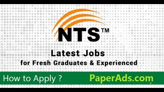 NTS jobs and how to apply for NTS test online